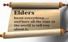 elders saying - slider version